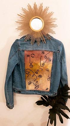 Lana Blue Jean Jacket