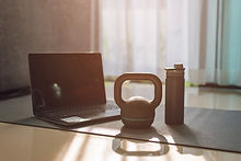 gym equipment, kettlebell dumbbell weigh