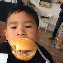 How do you eat your banh mi?