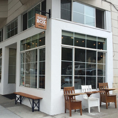The Soapbox Cafe - at the corner of Hyde and Vallejo