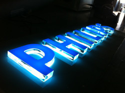 10mm acrylic letters with halo led's