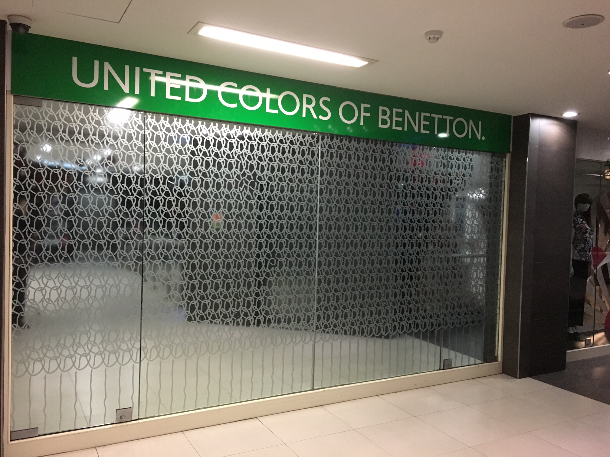 Works at Benetton Malta
