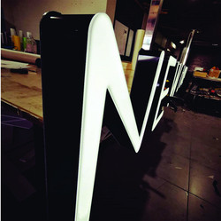 60mm channel lettering with led