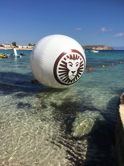 300cm inflatable ball