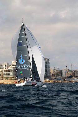 Main Sail textile decals