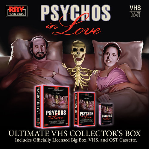 Psychos In Love Collector's Box (Officially Licensed) dir. Gorman Bechard