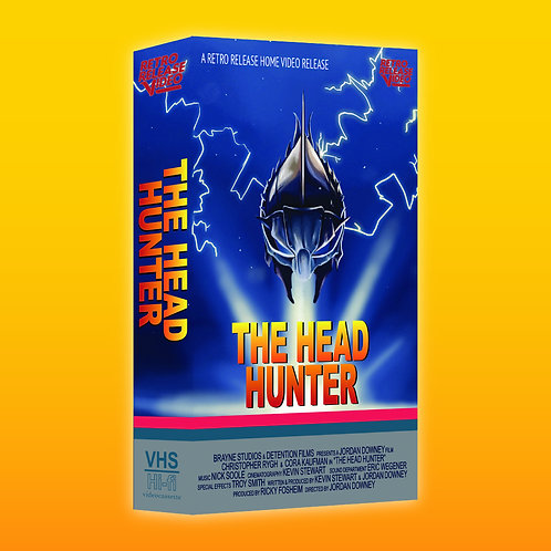 The Head Hunter (2019) Official Licensed  VHS