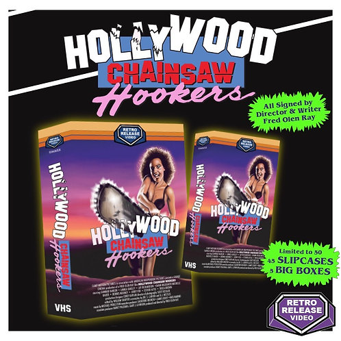 Hollywood Chainsaw Hookers (Officially Licensed) Signed by Fred Olen Ray