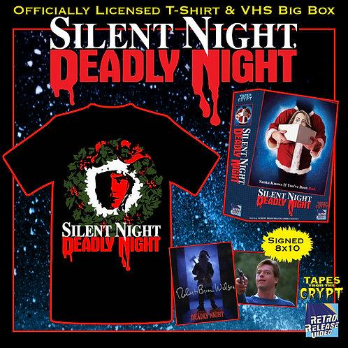 Silent Night, Deadly Night Bundle (ROBERT BRIAN WILSON Signed Photo)