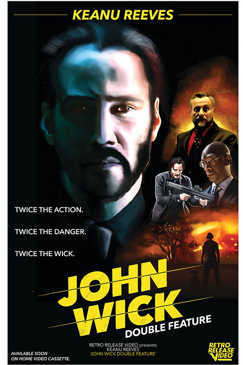 John Wick Double Feature 11x17 PRINT