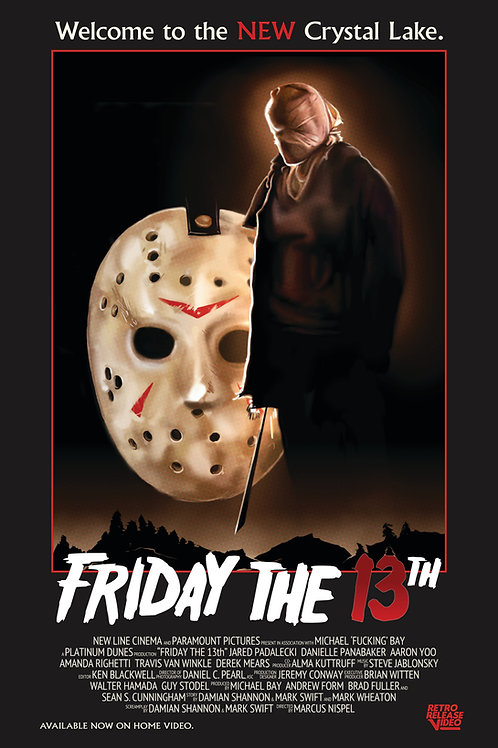 Friday the 13th (2009) 11x17 PRINT