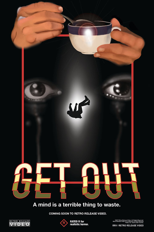 Get Out (2017) 11x17 PRINT
