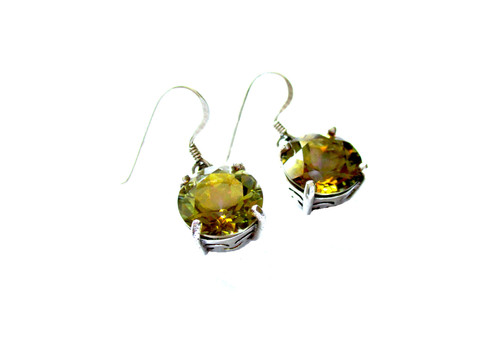 gold shape mystic grams earrings yellow topaz l room square property