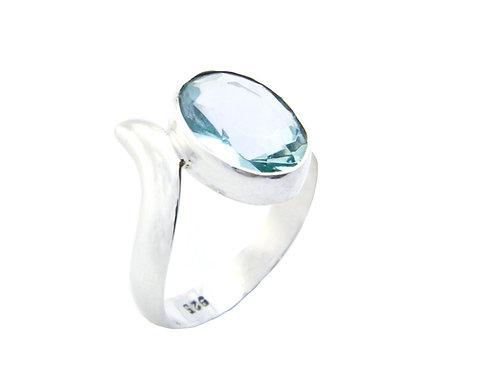 Green Obsidian Ring