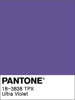Ultra Violet: Pantone's 2018 Color of the Year