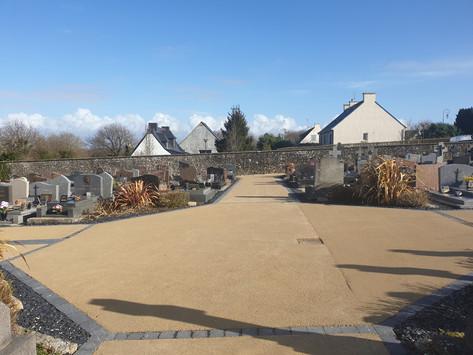 Le cimetière de la commune a été rénové et embelli
