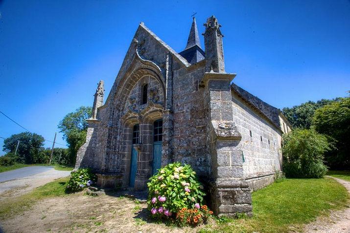 Le patrimoine de la commune d'Ambon dans le Morbihan, crédit : Remy Touche