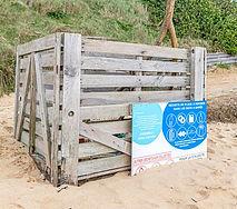 Bacs à marée sur les plages d'Ambon