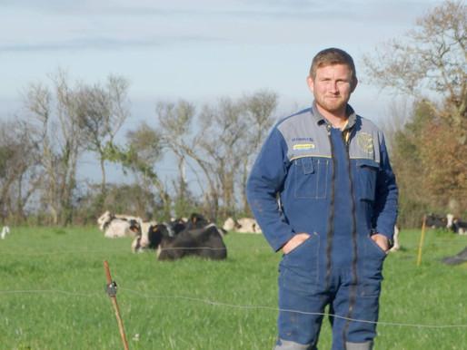Portrait de... Damien Le Tendre, jeune agriculteur sur la commune