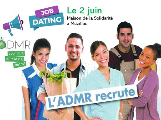 ADMR : JOB DATING D'ÉTÉ