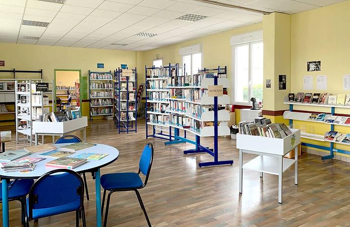 Bibliothèque municipale d'Ambon dans le Morbihan