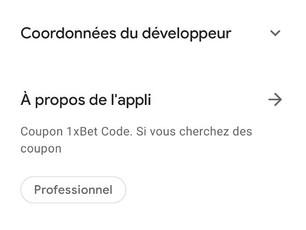 Application Mobile 1xCouponCode