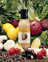 Reduced Fat Mediterranean Feta Dresssing