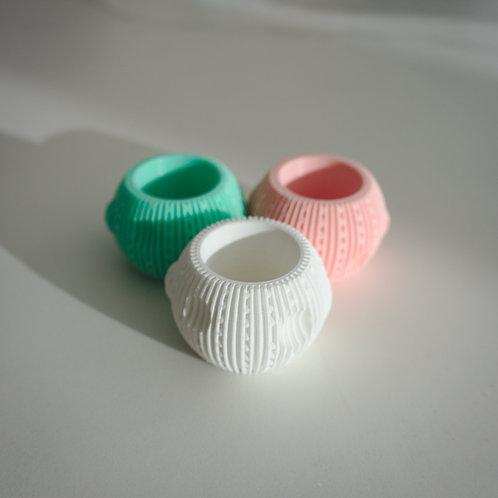 RINGMOON rond de serviette / napkin ring (set de 3)