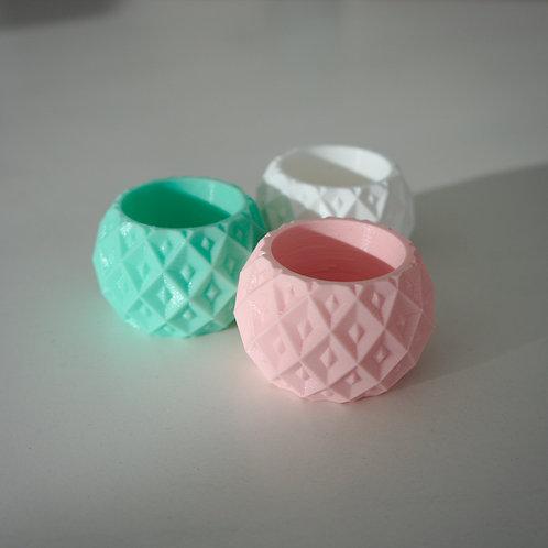 RINGBERRY rond de serviette / napkin ring (set de 3)