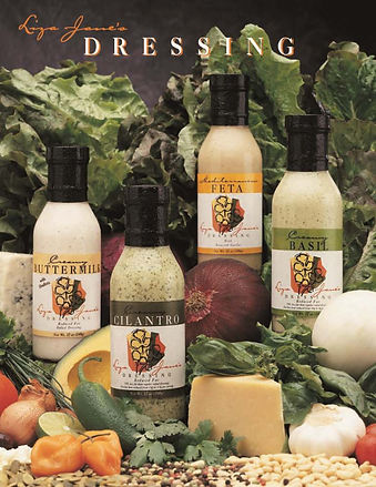 Sell shee of salad dressings