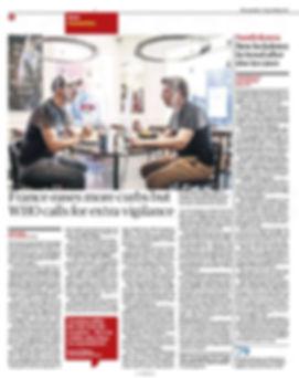 CORONAVIRUS RESTAURANT  The Guardian UK.
