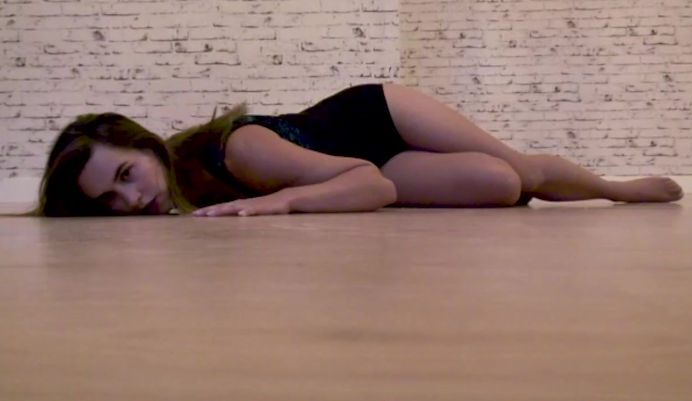preview of student's choreography at the end of the course