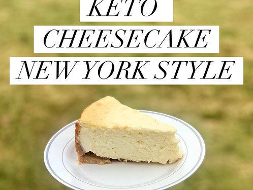 Keto/Low Carb Cheesecake