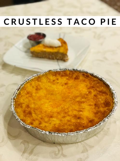 Crustless Taco Pie
