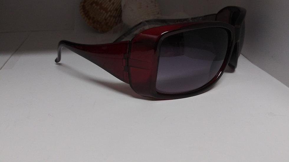 Burgundy Sunglasses