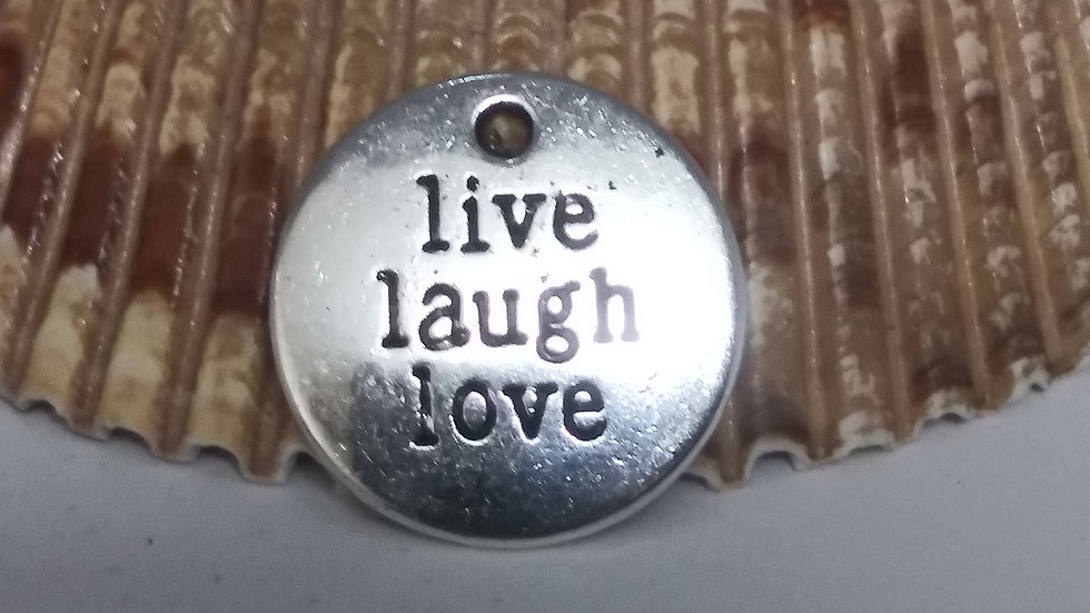 Live. Laugh. Love charm