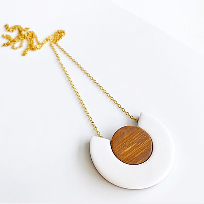 HALF + HALF necklace