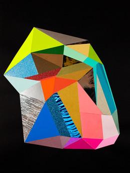 Black Color Crystal #15