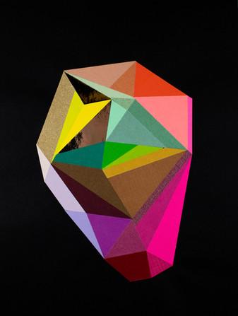 Black Color Crystal #14