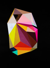 Black Color Crystal #12