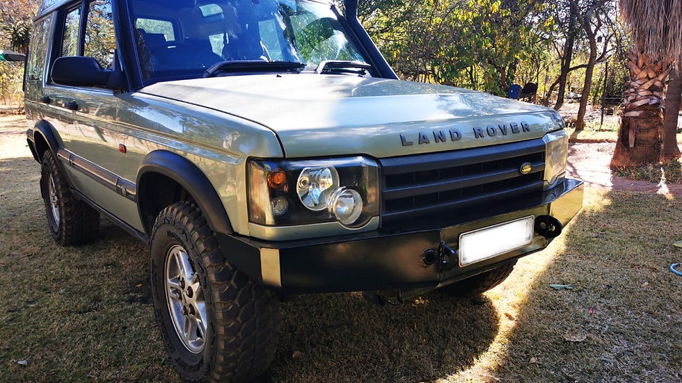 Discovery 2 Facelift Front bumper