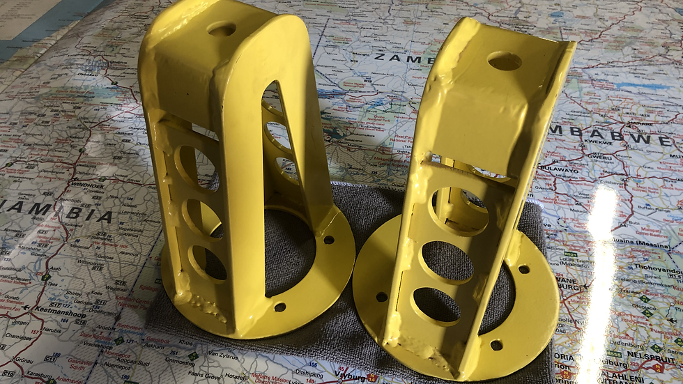 Discovery 1 or Defender Front Shock Turrets