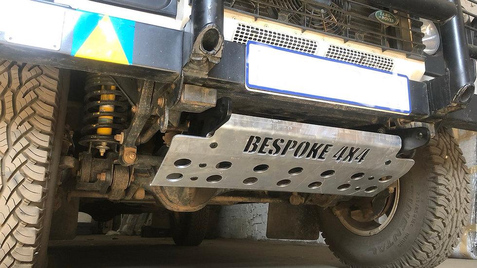 Defender Aluminium bash plate