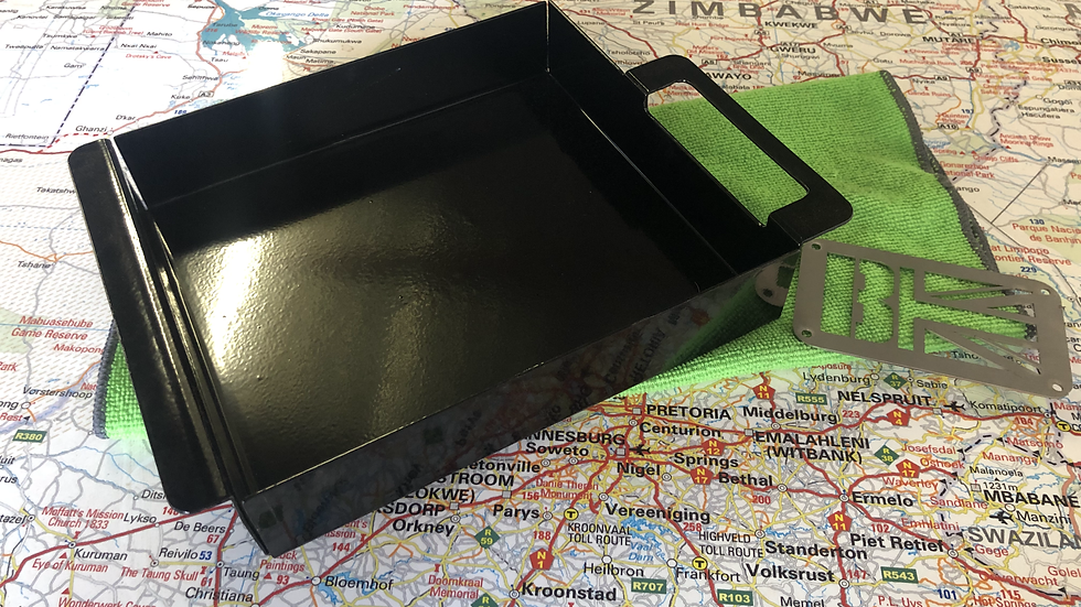 defender cubby box tray