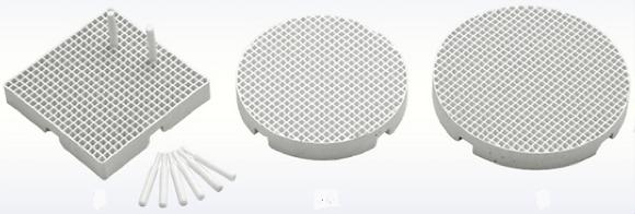 Honeycomb Firing Trays (2mm Hole)