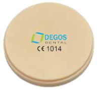 CAD/CAM Disc - L-Temp Multicolour PMMA