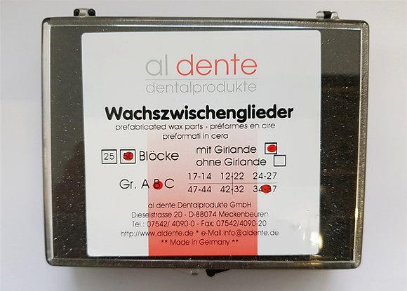 Wax Blocks with Collar B34-37 50pcs