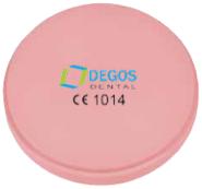 CAD/CAM Disc - L-Temp Pink