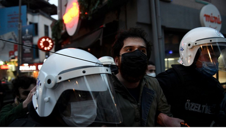 "Turkey's Erdogan describes student protesters as ""terrorists"""