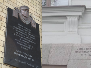 Nazi collaborator monuments in Lithuania